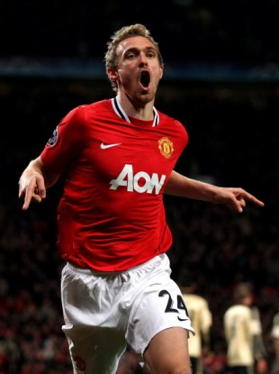 Darren Fletcher: needs a game.