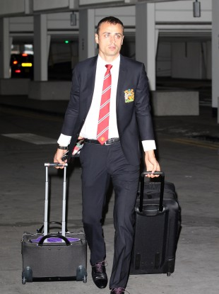 Berbatov scored 56 goals in 149 appearances for United.