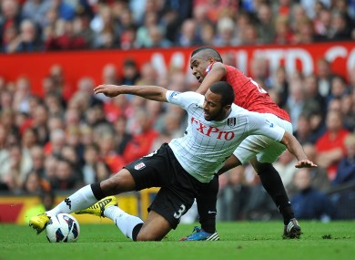Dembele in action against Manchester United last weekend.