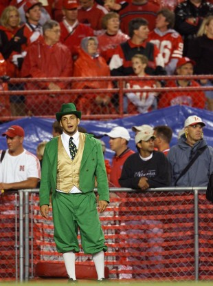 Notre Dame will be hoping their leprechaun mascot will have more to cheer about this Saturday.