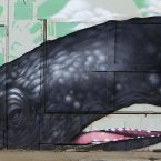 Is probably what would have been shouted had this been a real whale. (AP Photo/Tony Dejak)