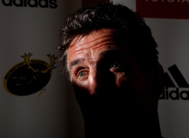 New Munster head coach head coach Rob Penney.