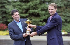 Ryder Cup: Poulter edges ahead of Garcia but Harrington's race looks run