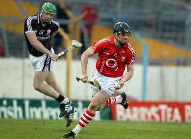 Cork's Shane O'Neill has suffered his share of defeats to Galway during his career.