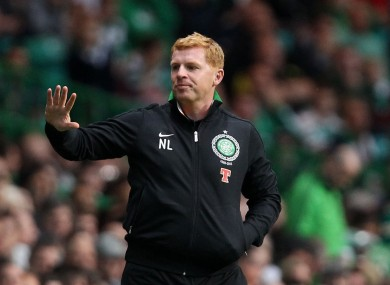 Celtic manager Neil Lennon.