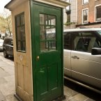 Installed in 1925, this type K1 phone box is believed to be the first in Ireland. There is another in Foxrock Village, Dublin. 