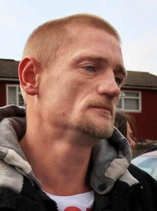 Stuart Hazell,37, the partner of Christine Sharp, grandmother of missing Tia Sharp