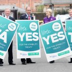 The Yes side earlier this year linked an affirmative vote to Irish tradition. (Photo: Laura Hutton/Photocall Ireland)