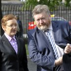 James Reilly is the king of making out like he has a gun to ward off bad guys. 