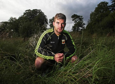Aidan O'Shea at Mayo's press night in Breaffy House last week.