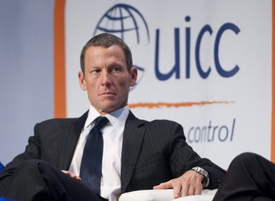 Lance Armstrong has been prevented from racing in the Chicago marathon.