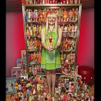 Bettina Dorfmann (Germany) has 15,000 different Barbie dolls that she has collected since 1993. They are featured in the new Guinness World Records 2013 book out now.