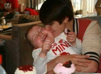 Justin Bieber with Avalanna Routh, who died this week