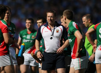 Cian O'Neill during the All-Ireland semi-final against Dublin.