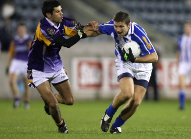 Klimacud Crokes Cian O'Sullivan and Ballyboden St-Enda's Conal Keaney.