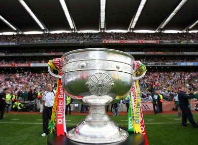 The Sam Maguire: where will it emd up this week?