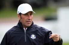Olazabal seeks right words for Ryder Cup
