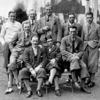 1929: Members of the Great Britain Ryder Cup team.