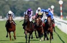 Encke spoils Camelot Triple Crown dream