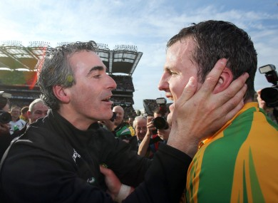 Jim McGuinness and Michael Murphy.