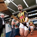 Kilkenny take to the field.