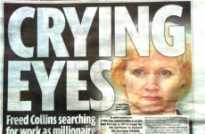4 things Sharon Collins' eyes are doing, according to tabloid headlines