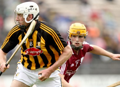 Kilkenny's Michael Fennelly will be in the midst of the midfield battle against Galway today.