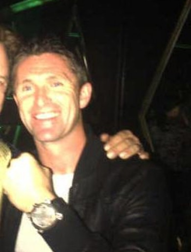 Which filmstar is Robbie Keane hanging out with?