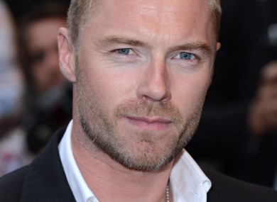 Blonde, attractive Ronan Keating pictured without his blonde, attractive new girlfriend