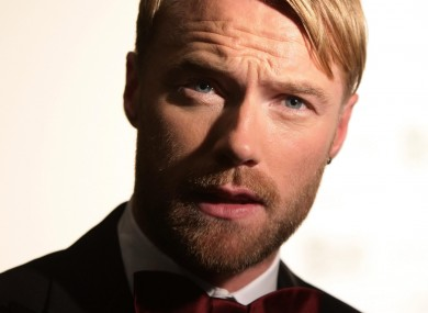 Ronan Keating: Hope in dogs