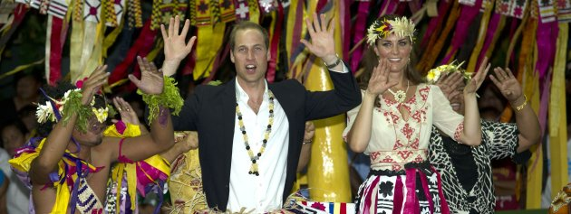 Royal tour of the Far East and South Pacific - Day Eight
