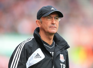 Pulis has called for more action to be taken on players who dive.