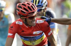 In-form Contador wins Italy's most venerable race