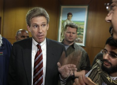 US ambassador to Libya Chris Stevens pictured in April 2011