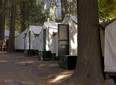 Tents at the Curry Village in Yosemite National Park, California (File photo)