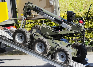 A robot used by the Army Bomb Disposal Team (File)