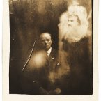 A clergyman and two spirits - he and his wife attended a seance where a voice claimed to be their late daughter. 