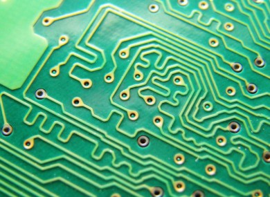 Semiconductors are used extensively in electronic circuits. 