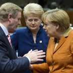 """Eh, Angela, remember about four months ago ye said ye would allow the ESM to recapitalise banks directly? Can we get the ball rolling on that?""