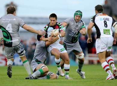 Harlequins number 10 Ben Botica was unflappable.