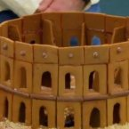 John's gingerbread Colosseum was a triumph.