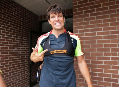 Donncha O'Callaghan: set to start.