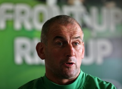 Quick pick: Connacht coach Eric Elwood.