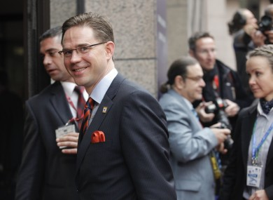 Finnish PM Jyrki Katainen
