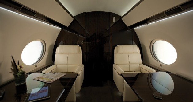 Tour the Gulfstream G650 – it only costs €50m