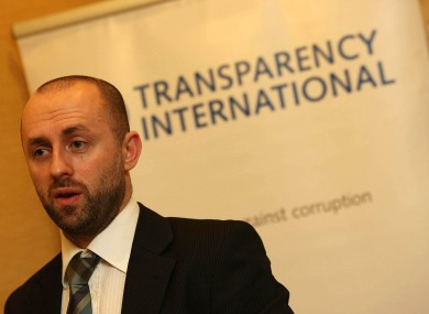 John Devitt of Transparency International Ireland