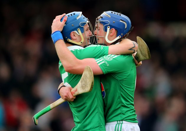 Liam Walsh and Gavin O'Mahony celebrate 7/10/2012Ê
