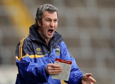 Michael Ryan will be part of the new Tipperary management team.