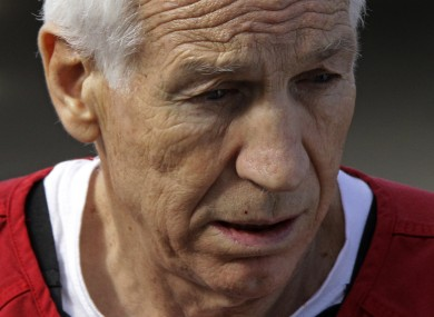 Sandusky leaves the courthouse today.