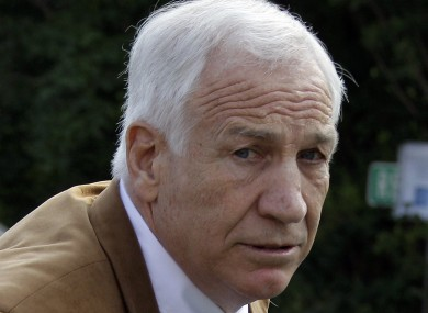Jerry Sandusky (file photo).